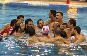Ο Ολυμπιακός Κυπελλούχος Ελλάδος στο πόλο ανδρών