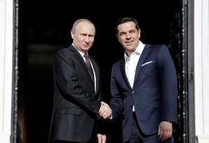 Ο Πούτιν στην Αθήνα