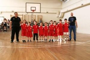Η δράση των μικρών του τοπικού Μπάσκετ