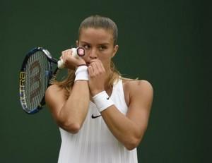 «Αντίο» στο Wimbledon  για τη Σάκκαρη