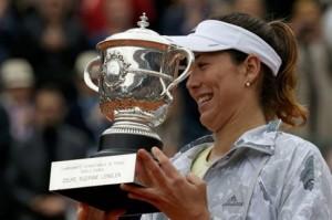 Η Μουγκουρούθα, κατέκτησε το «Roland Garros»