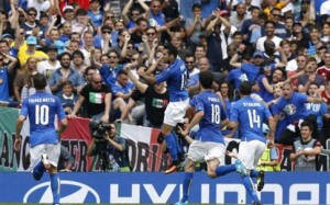 Νίκη και πρόκριση στο φινάλε για την Ιταλία