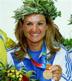 Η  Μπεκατώρου σημαιοφόρος της Ελλάδας στους Ολυμπιακούς
