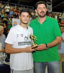 MVP ο Αρσενόπουλος