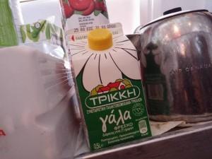 Γάλα «Τρίκκη» σε υπερατλαντικές πτήσεις!