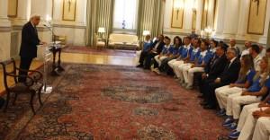 Στο Προεδρικό Μέγαρο οι Ολυμπιονίκες του Ρίο