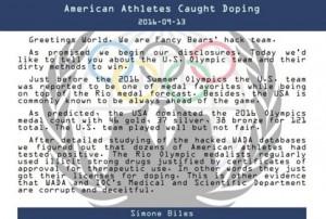 Χάκερ «αποκαλύπτουν» σκάνδαλο ντόπινγκ με Αμερικανούς στο Ρίο