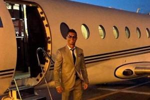 Eπεσε  το αεροπλάνο του Κριστιάνο Ρονάλντο!