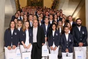 Στο Μαξίμου η Ολυμπιακή ομάδα του Ρίο