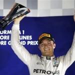 Nίκη για τον N. Rosberg  στο GP Σιγκαπούρης