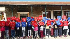Χαρά και άθληση σε τρία σχολεία