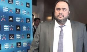 Πρόταση για χορηγία της Super League από το κανάλι του Μαρινάκη