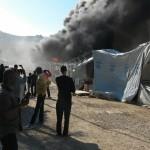 Ξέσπασε εξέγερση προσφύγων στη Μυτιλήνη