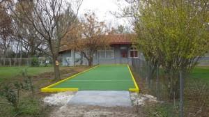 Έτοιμο το γήπεδο για Μπότσια στις Καρυές