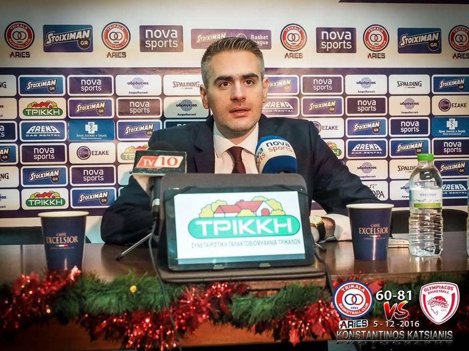 Καστριτης: «Χρήσιμα συμπεράσματα, κοιτάμε το ματς με Κόροιβο»