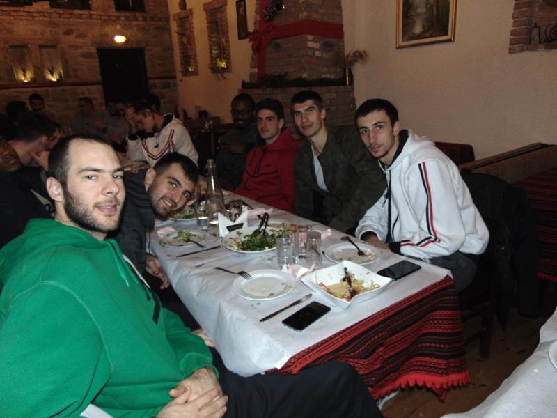 Προεδρικό δείπνο στα Τρίκαλα BC Aries