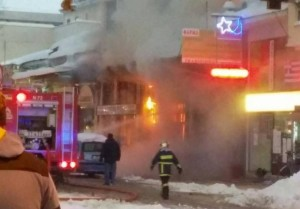 Μεγάλη πυρκαγιά στο κέντρο της πόλης