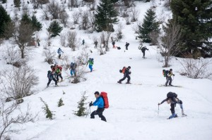 Κορυφαία εκδήλωση ορειβατικού σκι στα βουνά των Τρικάλων