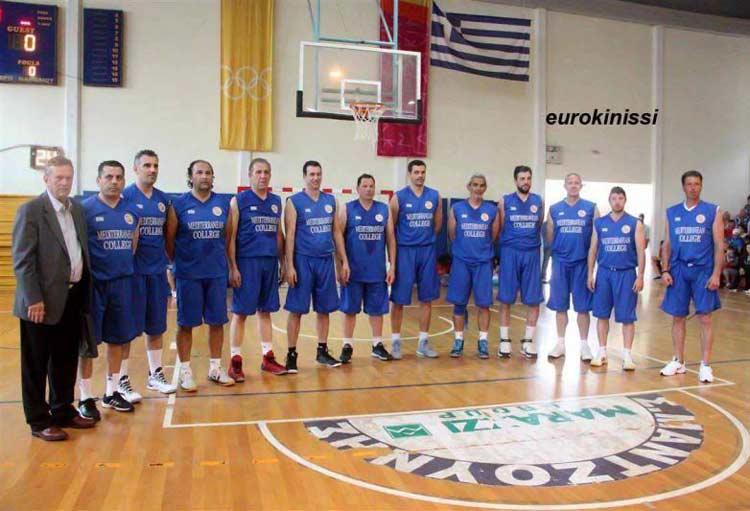 Οι Βετεράνοι του μπάσκετ στην Καλαμπάκα