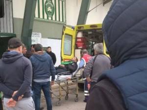 Στο νοσοκομέιο ο πρόεδρος Αχαρναϊκού