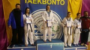 Δυο Τρικαλινά μετάλλια στο Πανελλήνιο Νέων ΤΚD