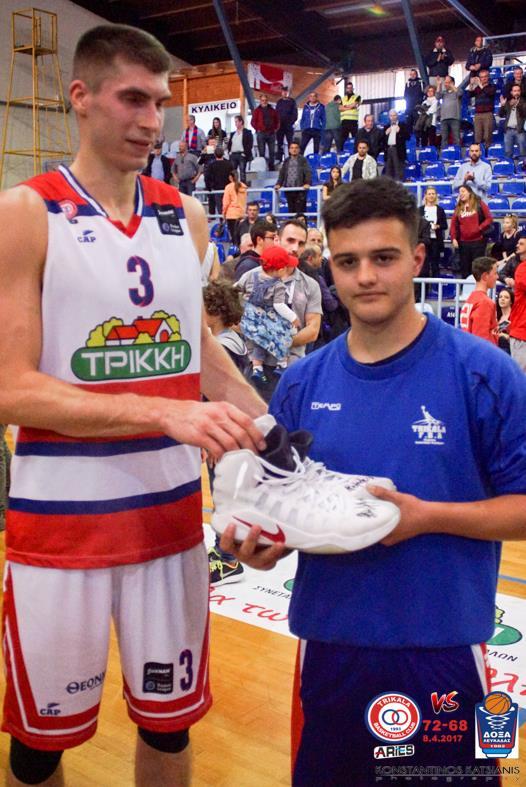 Κέρδισε τα παπούτσια του Λίποβι!