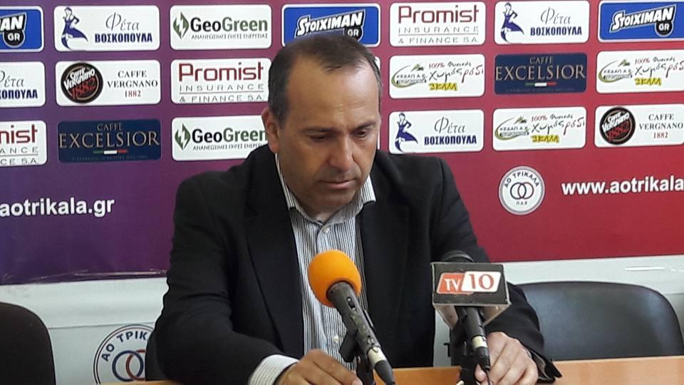 Αμανατίδης: «Σήμερα οι παίκτες έπαιξαν σαν πρωταθλητές»