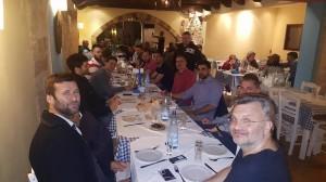 Αποχαιρετιστήριο δείπνο στην Ρόδο