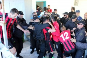 Ξύλο παικτών με αστυνομικούς στην Καβάλα