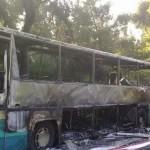 Έπιασε φωτιά λεωφορείο που μετέφερε 67 μαθητές!
