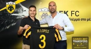 Και επίσημα στην ΑΕΚ ο Λόπες