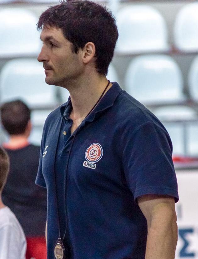 Ο γυμναστής των Τρικάλων BC στην Εθνική Ουκρανίας