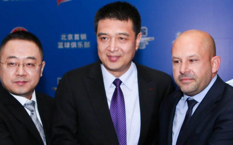 Χριστόπουλος και Χάρης Μαρκόπουλος στην Κίνα