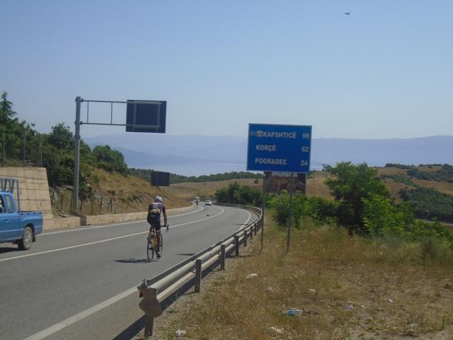 Στην Λίμνη Οχρίδα ο Στέλιος!!!