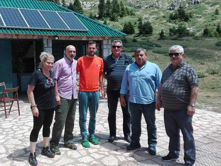 Συνάντηση Μαράβα με Περικλή Ηλία στα ορεινά