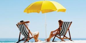 Αντηλιακή προστασία για τις ευαίσθητες ζώνες