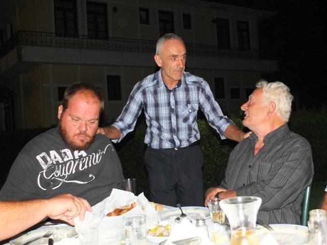 Τραπέζι σε όσους τον στήριξαν ο Στέλιος