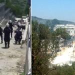 Εξέγερση μεταναστών στη Μόρια