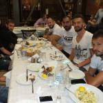 Σε δείπνο παίκτες και ηγεσία του ΑΟΤ