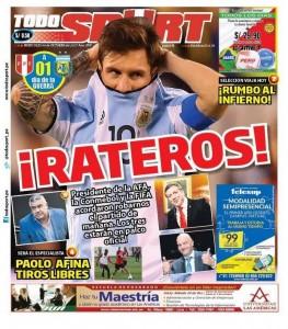 Καταγγέλλουν  συνωμοσία για να νικήσει η Αργεντινή!
