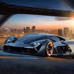 H Lamborghini Terzo Millenio εντυπωσιάζει
