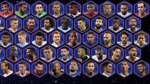 Οι υποψήφιοι της UEFA για την κορυφαία 11άδα του 2017