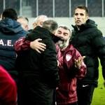 Καβγάς Κούγια Φυντάνη νίκη στο 94 η ΑΕΛ