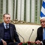 Κόντρα μεταξύ Ερντογάν-Παυλόπουλο στο Προεδρικό Μέγαρο