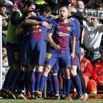 Η  Μπαρτσελόνα, 3-0 τη Ρεάλ στη Μαδρίτη