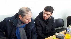 Κατσουράνης, Γεωργακόπουλος βρέθηκαν στα Τρίκαλα