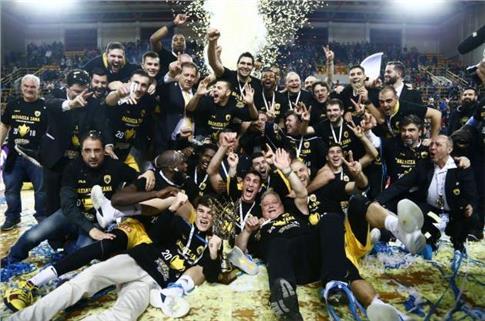 Κυπελλούχος Ελλάδος  στο Μπάσκετ η ΑΕΚ!