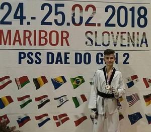 «Αργυρός» ο Σικοβέλας  στο G1 Slovenia Open