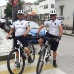 Περιπολία αστυνομικών με ποδήλατα στα Τρίκαλα!