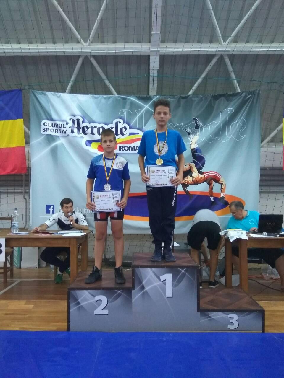 Χρυσό μετάλλιο στην Ρουμανία ο Σωτήρης Μπακόπουλος